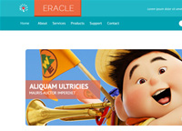Eracle – Free PSD Template