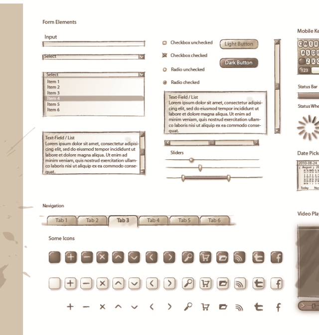 Sqetch, an Illustrator Wireframe Toolkit