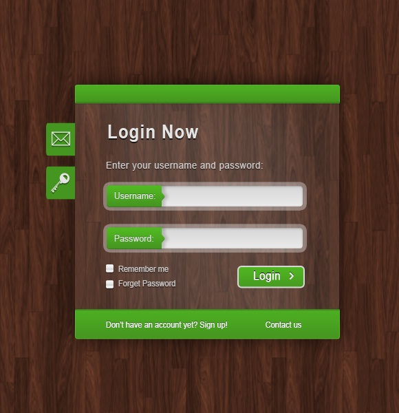 Clean and Effective Login Form