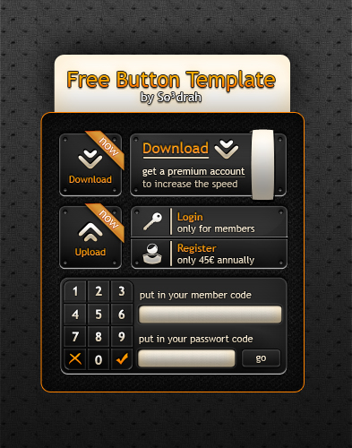 Button Template 1.0