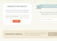 Awesome Newsletter Signup