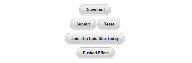 CSS Glassy Buttons