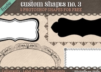 5 Photoshop Shapes