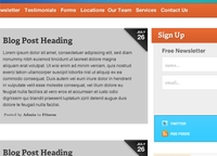 Blog Web Layout