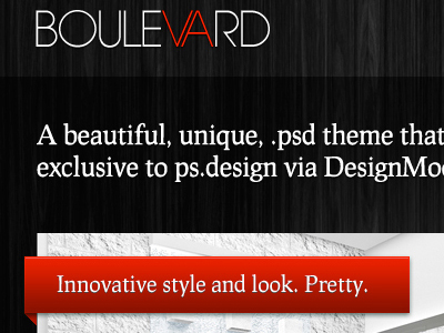 Boulevard Full Web Layout