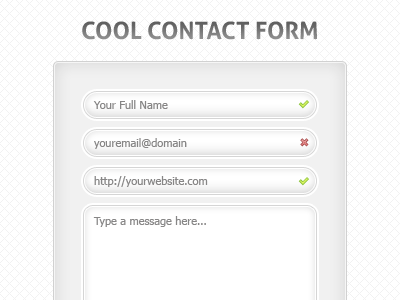 Cool Contact Form