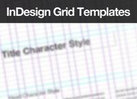 InDesign Baseline Grid Templates