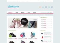 Mihstore &#8211; Free psd layout