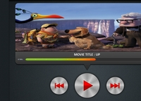 Movie Player UI
