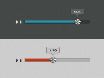 Music Load bar Dark/Light