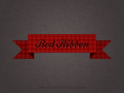 Red Ribbon Vintage