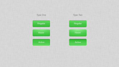Simple Green Buttons (Two Types)