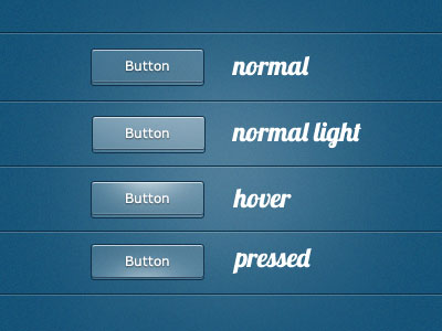 Transparent 3D Buttons