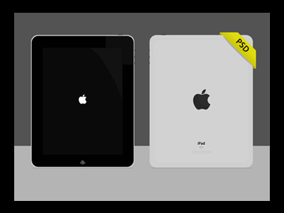 iPad Vector PSD