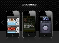 iPhone App Gallery PSD