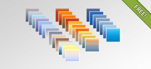 30 Photoshop Gradients