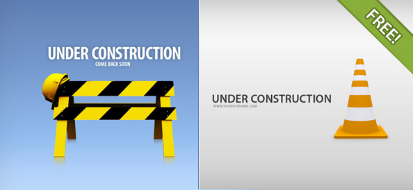 4 Under Construction Pages