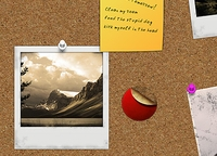 Free PSD Cork Board