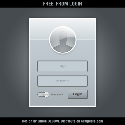 Metal Login Form