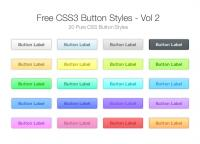 Free CSS3 Button Styles – Vol 2