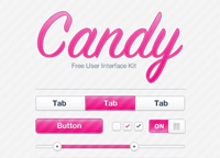 Free Candy UI Kit