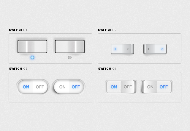 Free UI Toggle Switches
