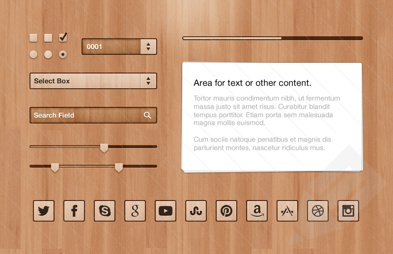 Got Wood UI Kit 2