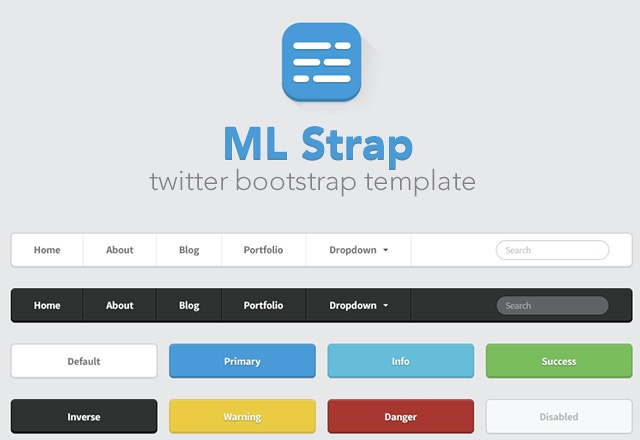 ML Strap: Twitter Bootstrap Theme