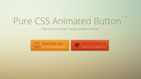 Login Buttons Css Css Animated Buttons