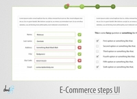E-Commerce Steps UI