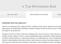 Tabbed Slider Using jQuery and CSS3