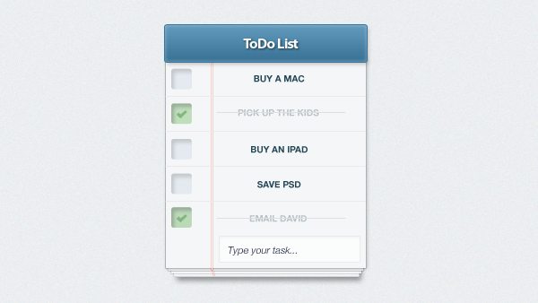 To-Do List App UI