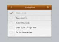 To-Do List PSD