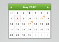 Mini Calendar / Date Picker