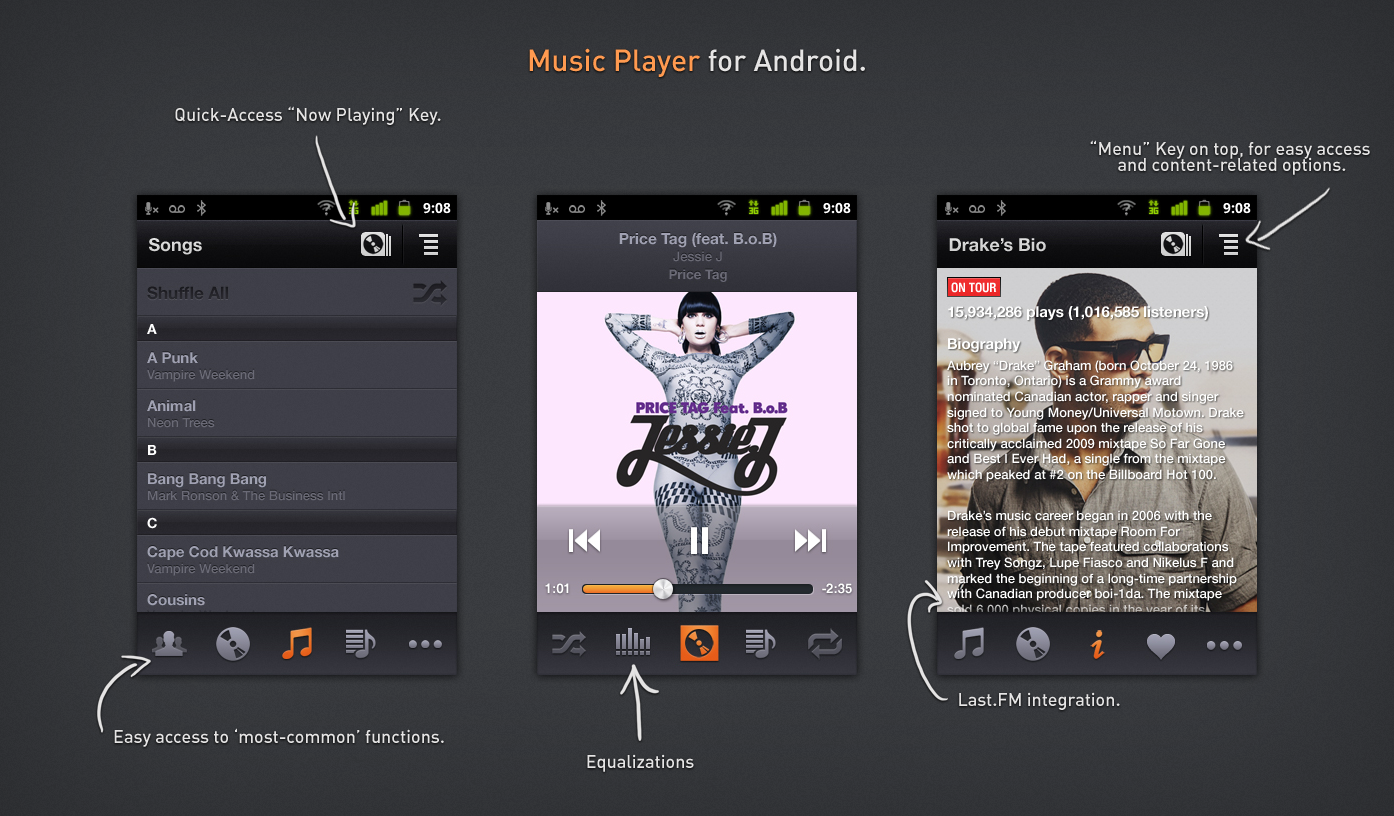 Music Player – 2nd Version