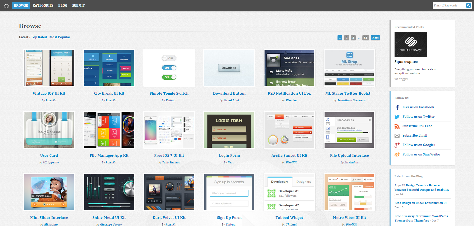 UICloud   Browse User Interface Designs 4