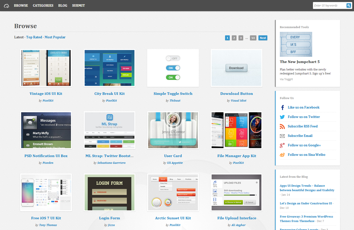 UICloud   Browse User Interface Designs