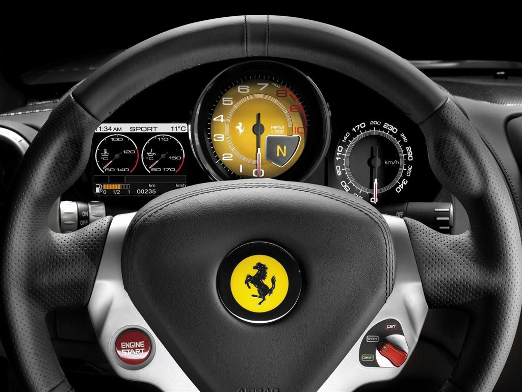 Ferrari-California-Dashboard-View