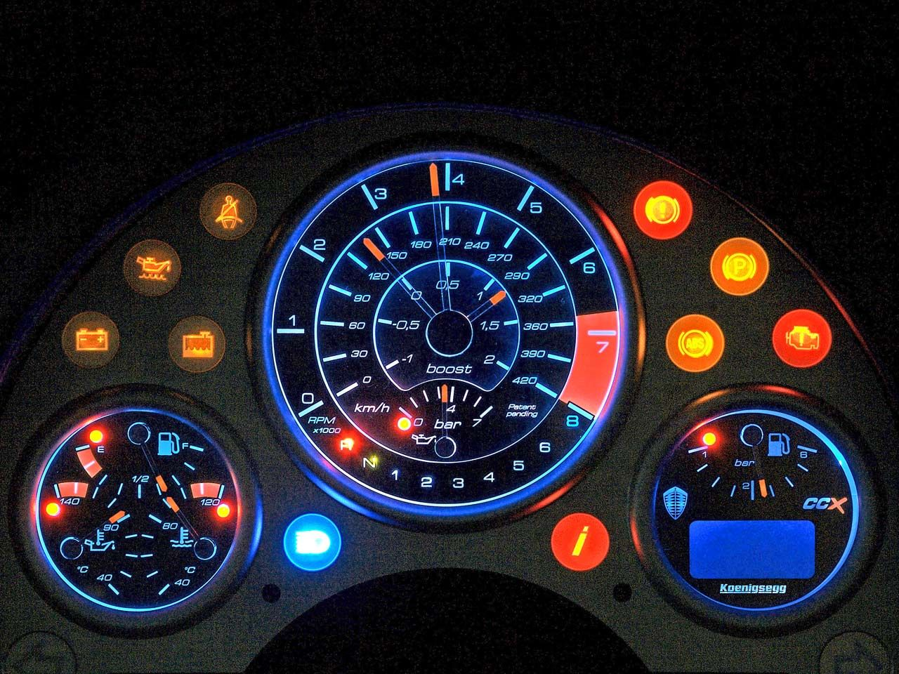 Super Car Dashboard Design User Interface Uicloud